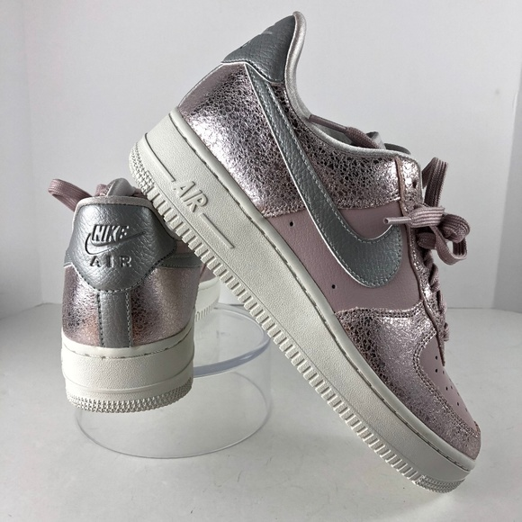 Nike Womens Air Force 1 '07 Rose/Pewter Size 8 NEW